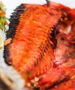 سمك فرش مشوي (سنجاري)