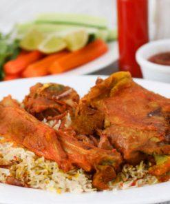 مندي لحم مطعم النعمان دبي