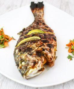 سمك سبريم مشوي