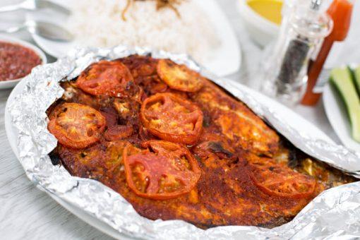 سمك هامور مشوي