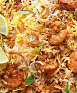 وجبة برياني روبيان | مطاعم النعمان